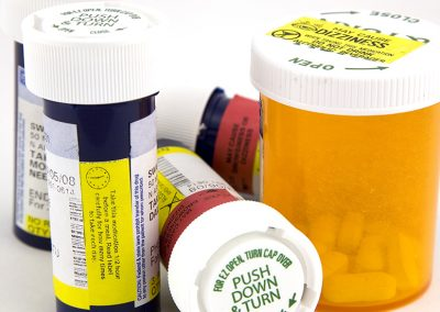 Pharmaceutical label printing