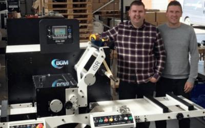 BGM Bar Graphic Machinery finishing system