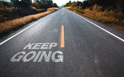 Why you must keep going when the finish line is out of sight